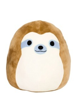 "Squishmallow Simon Sloth 8"" Plush"