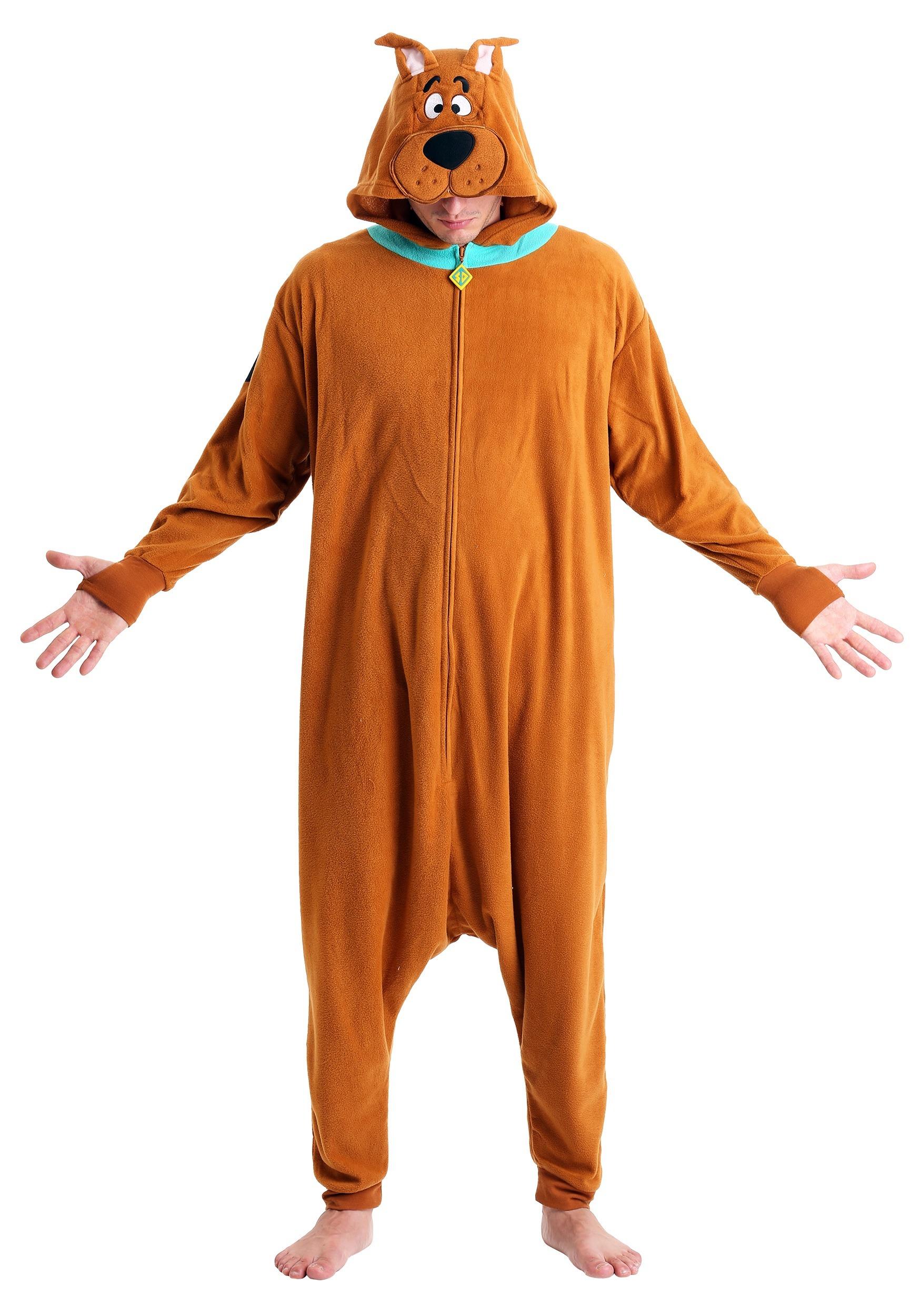 Adult Scooby Doo Kigurumi