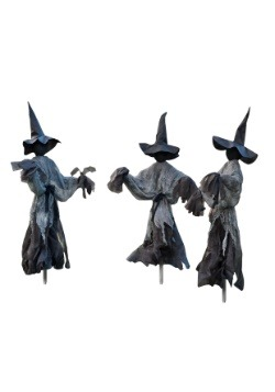 Lawn Witch Trio Halloween Decoration