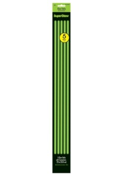 "Green Glowsticks - 22"" Pack of 5"
