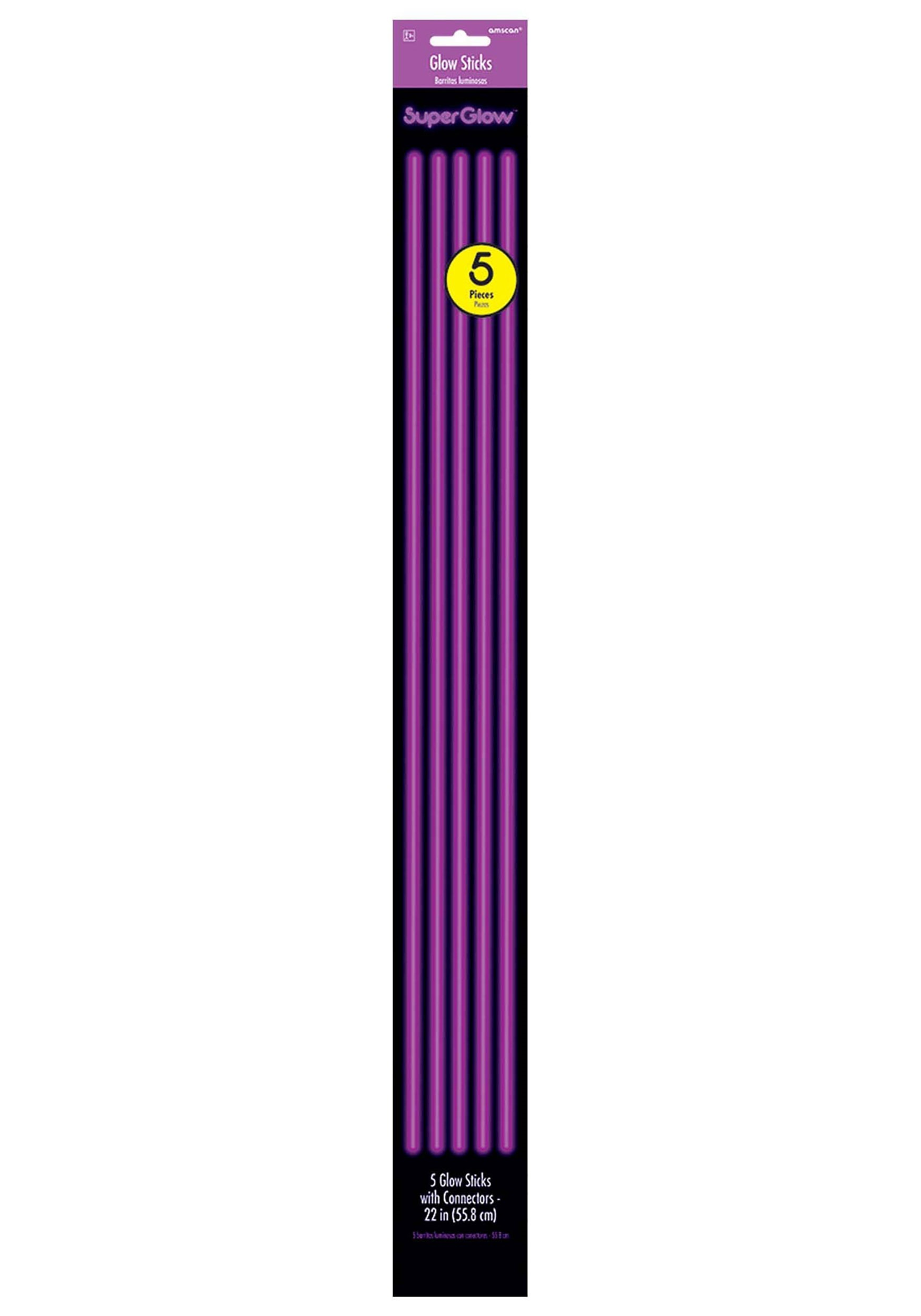 5_Pack_Purple_Glowsticks