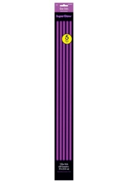 "Purple Glowsticks - 22"" Pack of 5"