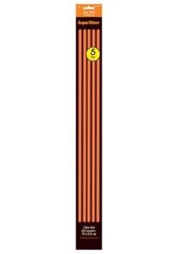 "Orange Glowsticks - 22"" Pack of 5"