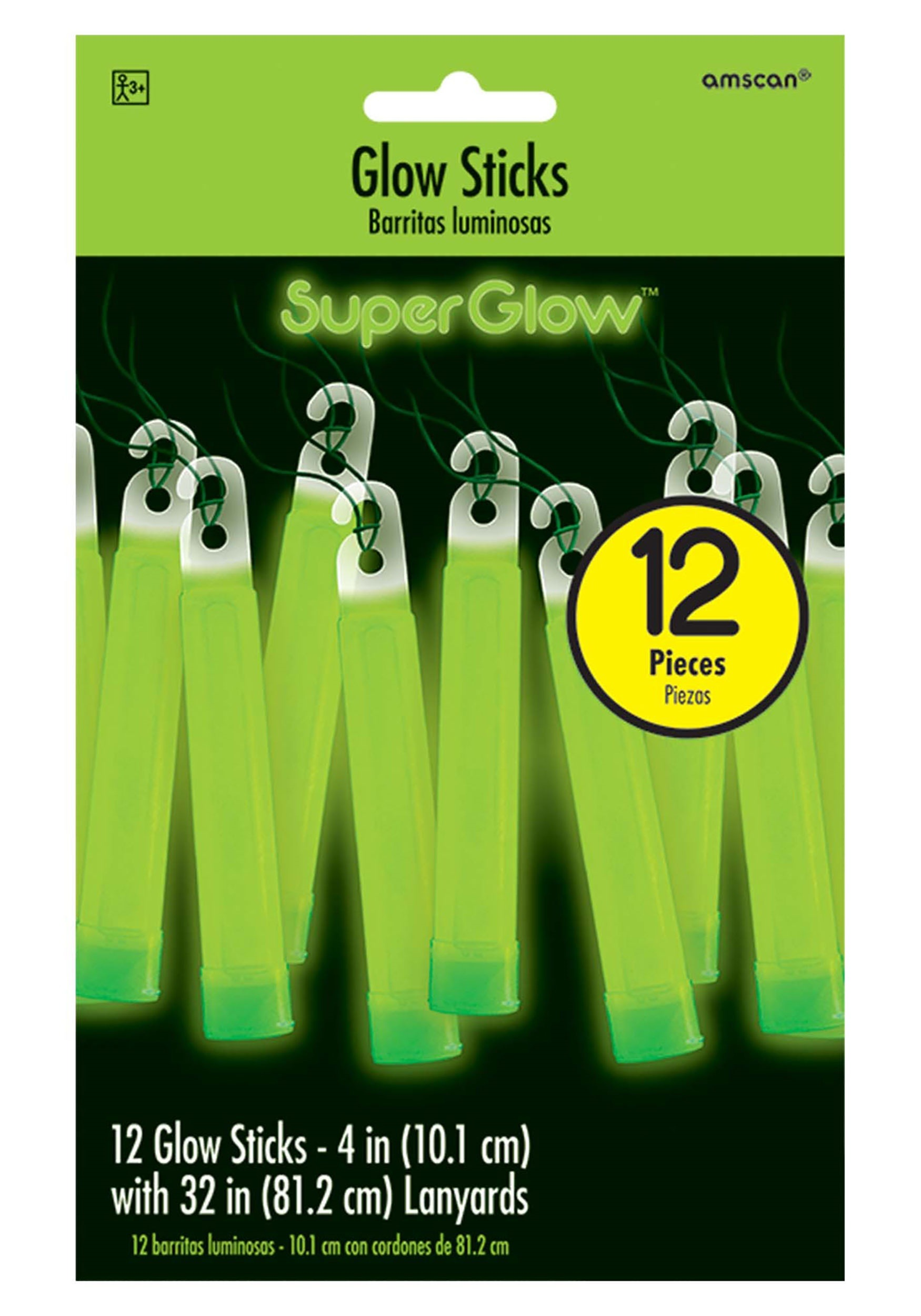 "4""_Green_Glowsticks_Pack_of_12"
