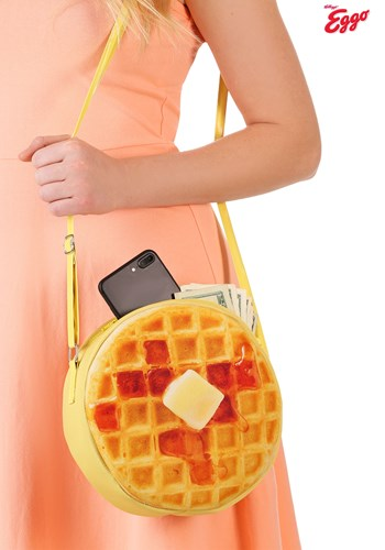 Kellogg Eggo Waffle Purse