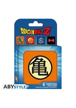 Dragon Ball Z Coaster 4 Pack Set22