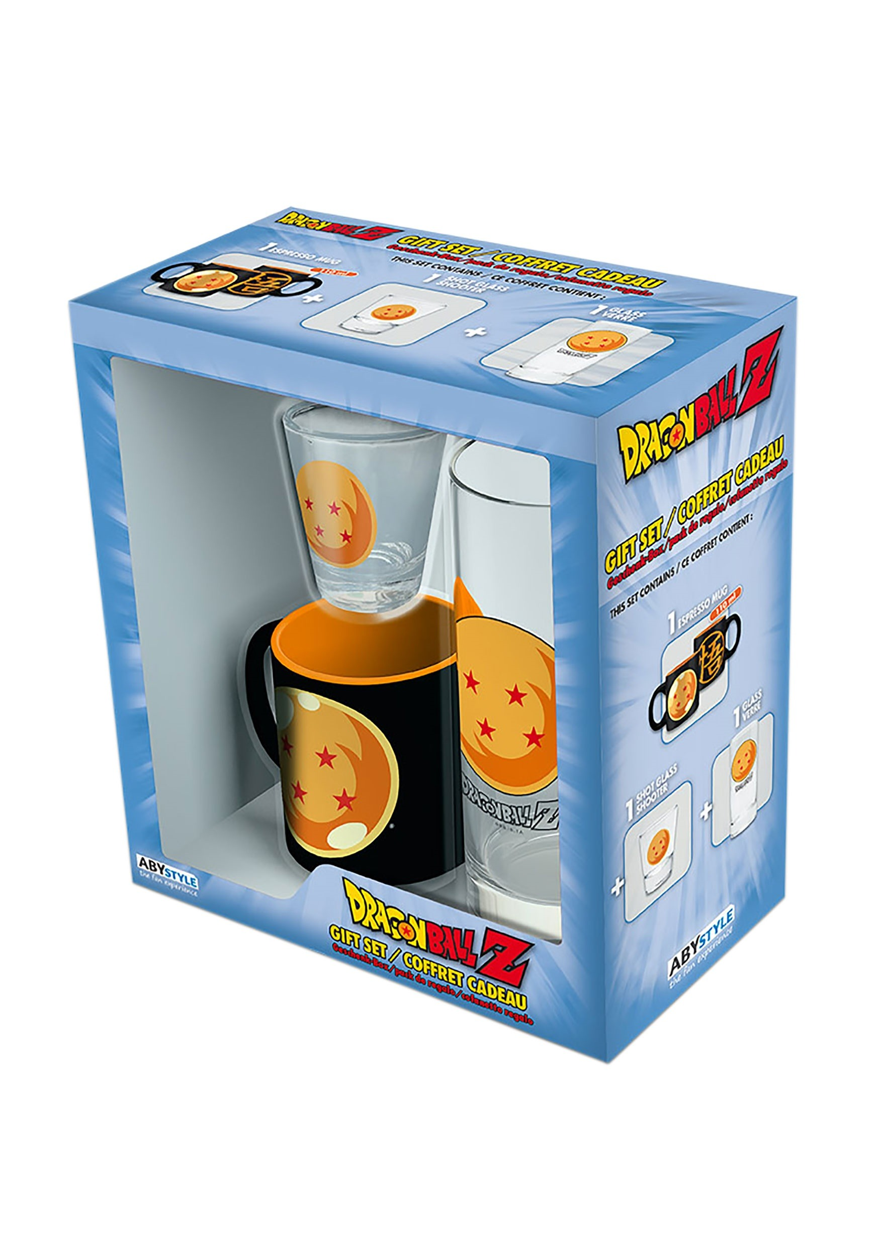 Dragon Ball Z Gift Set 3 Piece Drinkware