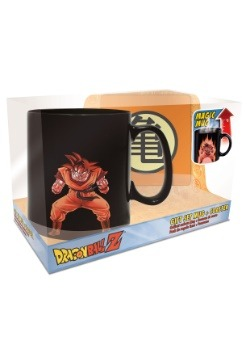 Dragon Ball Z Goku Heat Change Mug & Coaster Set