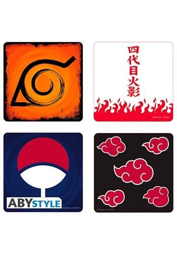 Naruto Coaster 4 Pack Set