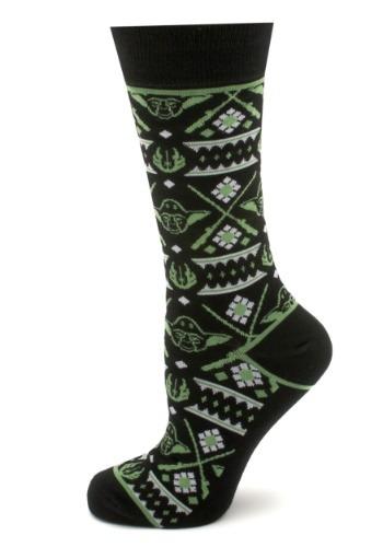 Mens Yoda Limited Edition Holiday Socks