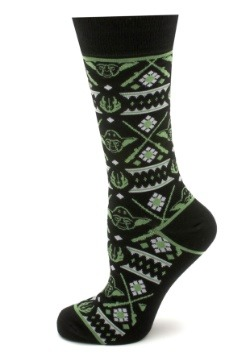 Mens Yoda Limited Edition Holiday Socks