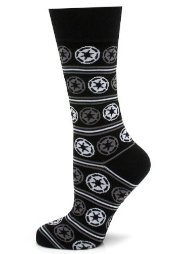 Imperial Stripe Black Socks