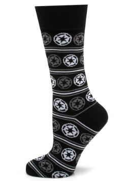 Imperial Stripe Black Mens Socks
