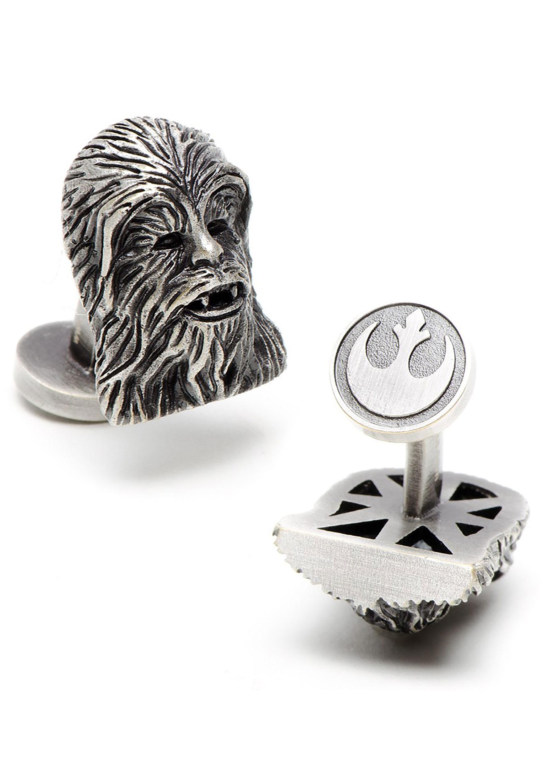 3d chewbacca cufflinks