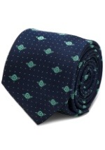 Yoda Dot Navy Tie