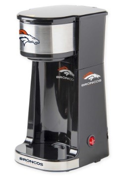 Denver Broncos Single Serving Coffee Maker