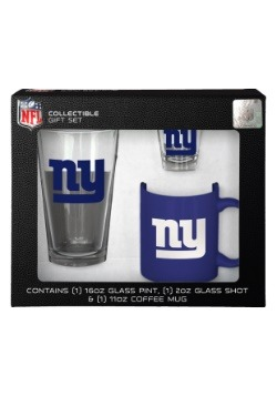 New York Giants 3PC Drinkware Gift Set