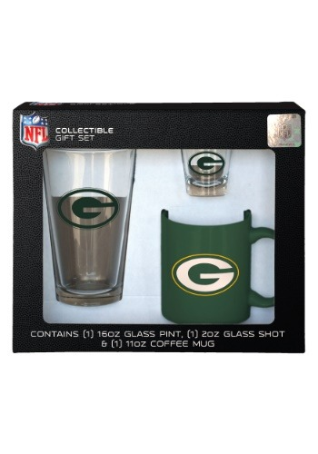 Green Bay Packers 3PC Drinkware Gift Set