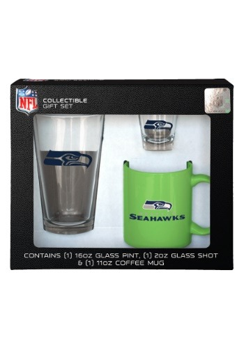 Seattle Seahawks 3PC Drinkware Gift Set