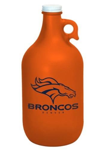 Denver Broncos Color Frosted 64oz Growler