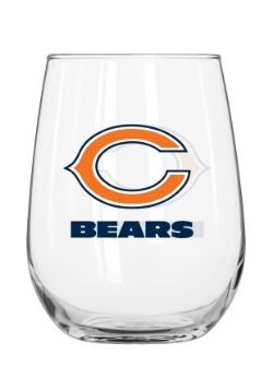 Chicago Bears 16oz Curved Glass