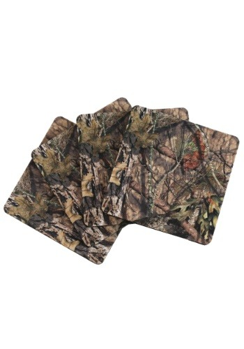 4 pc Mossy Oak Coaster Set