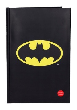 BATMAN DC COMICS BIG NOTEBOOK W LIGHT