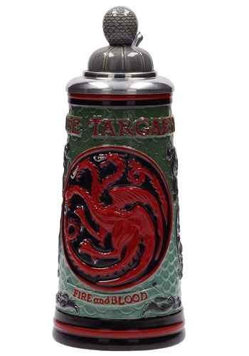 Game of Thrones House Targaryen Ceramic Stein update1