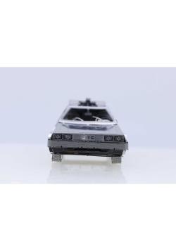 DELOREAN 3D METAL MODEL KIT BACK TO THE FUTURE