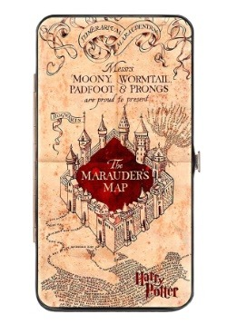 Harry Potter Marauder's Map Hinged Wallet