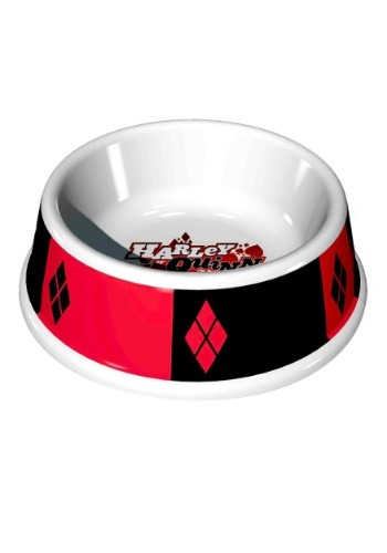 "7.5"" (16OZ)- Harley Quinn Melamine Pet Bowl"