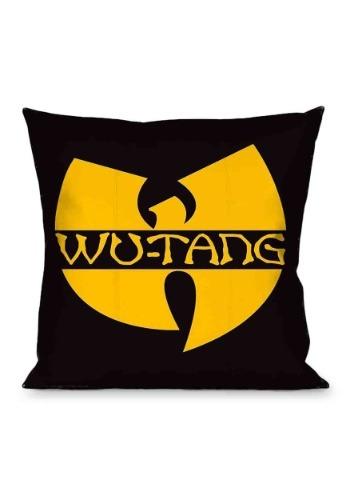 Wu-Tang Clan Logo 16X16 Throw Pillow