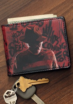 Freddy Nightmare on Elm Street Bi-Fold Wallet