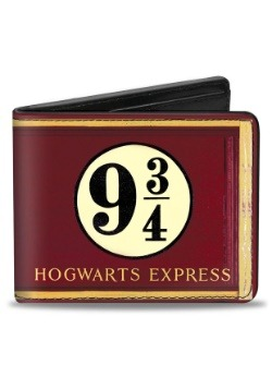 Harry Potter Hogwarts Express 9¾ Bi-Fold Wallet