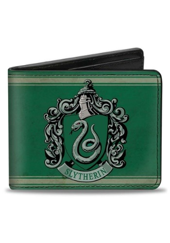 Harry Potter Slytherin Crest Bi-Fold Wallet