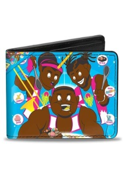 WWE The New Day Booty O's Group Pose Bi-Fold Wallet