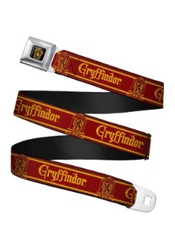 Harry Potter Gryffindor Crest Seatbelt Buckle Belt Update1