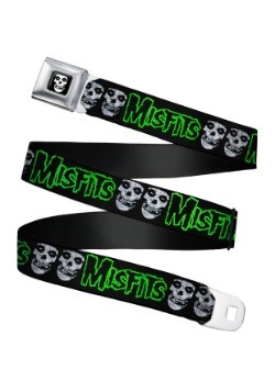 Misfits Fiend Skulls Seatbelt Buckle Belt Update1