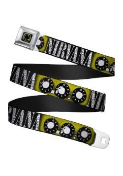 Nirvana Smiley Face Guitar Knobs Seatbelt Buckle Belt Update