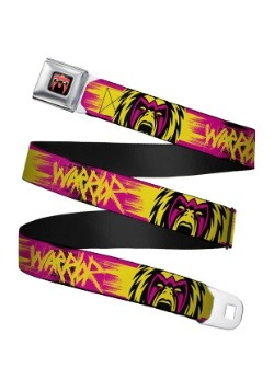 WWE Ultimate Warrior Faces Seatbelt Buckle Belt Update1