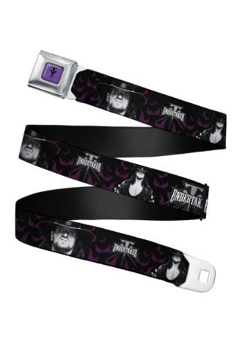 WWE Undertaker Seatbelt Buckle Belt Update1