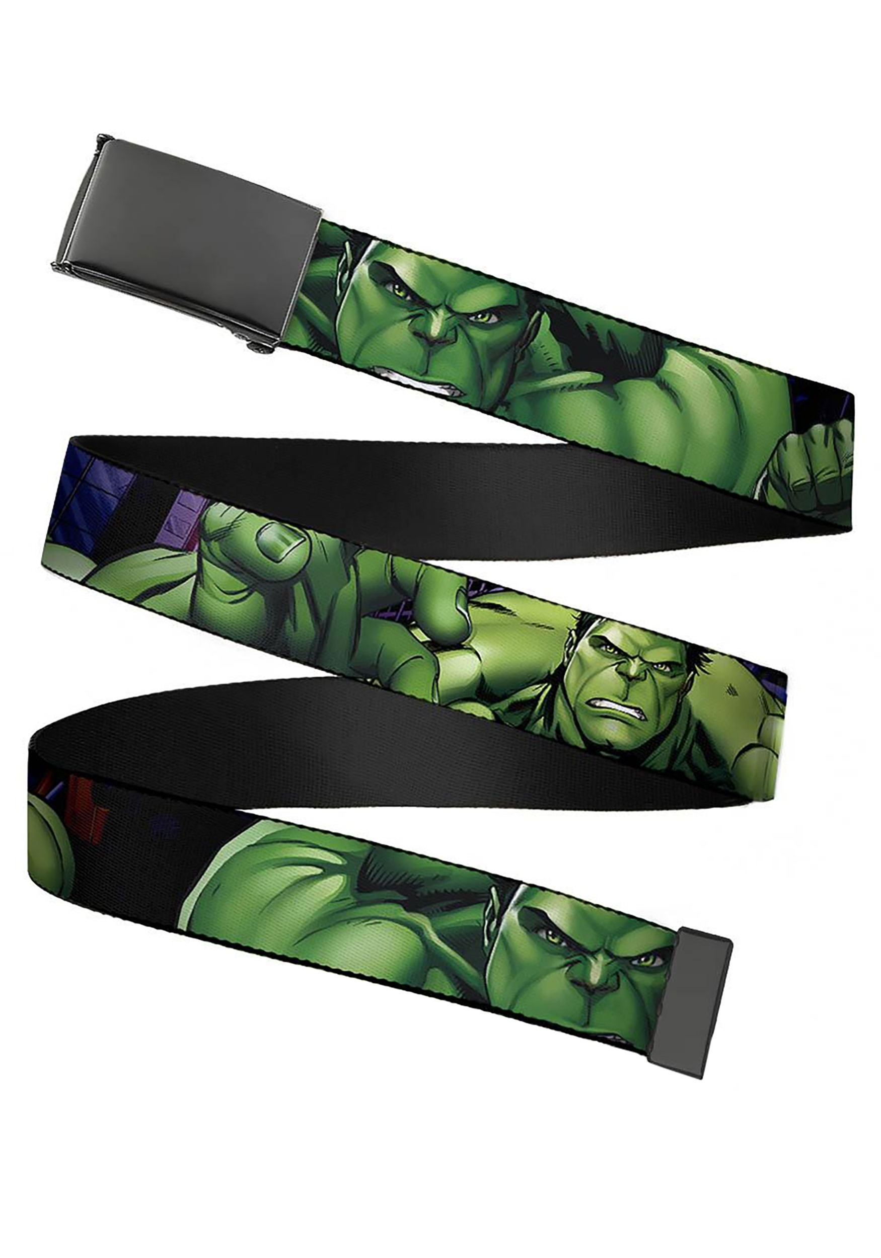 a2efacb88a4 Marvel The Incredible Hulk Buckle Web Belt update 1