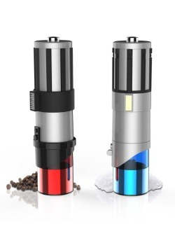 Star Wars Lightsaber S&P Mill Red/Blue