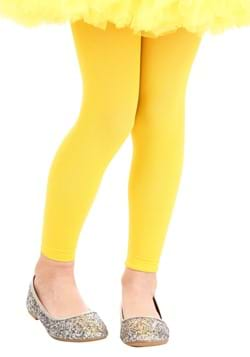 Child Yellow Footless Tights