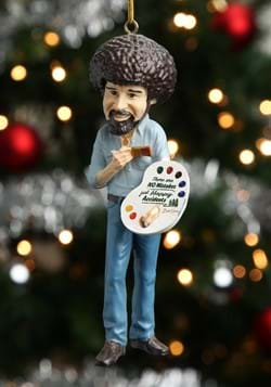 "Bob Ross 5"" Molded Ornament-update1"