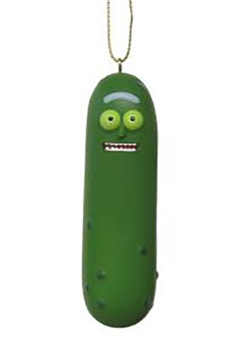 Rick & Morty Pickle Rick Molded Ornament