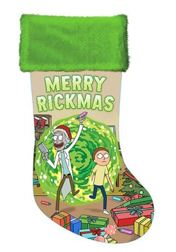 "Rick & Morty 19"" Satin Stocking-update1"