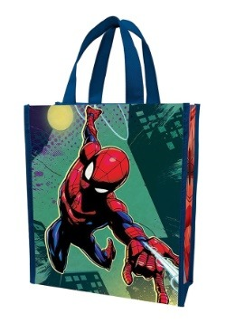 Marvel Spider-Man Recycled Shopper Tote Treat Bag Back