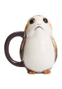 Star Wars The Last Jedi Porg Ceramic Sculpted Mug