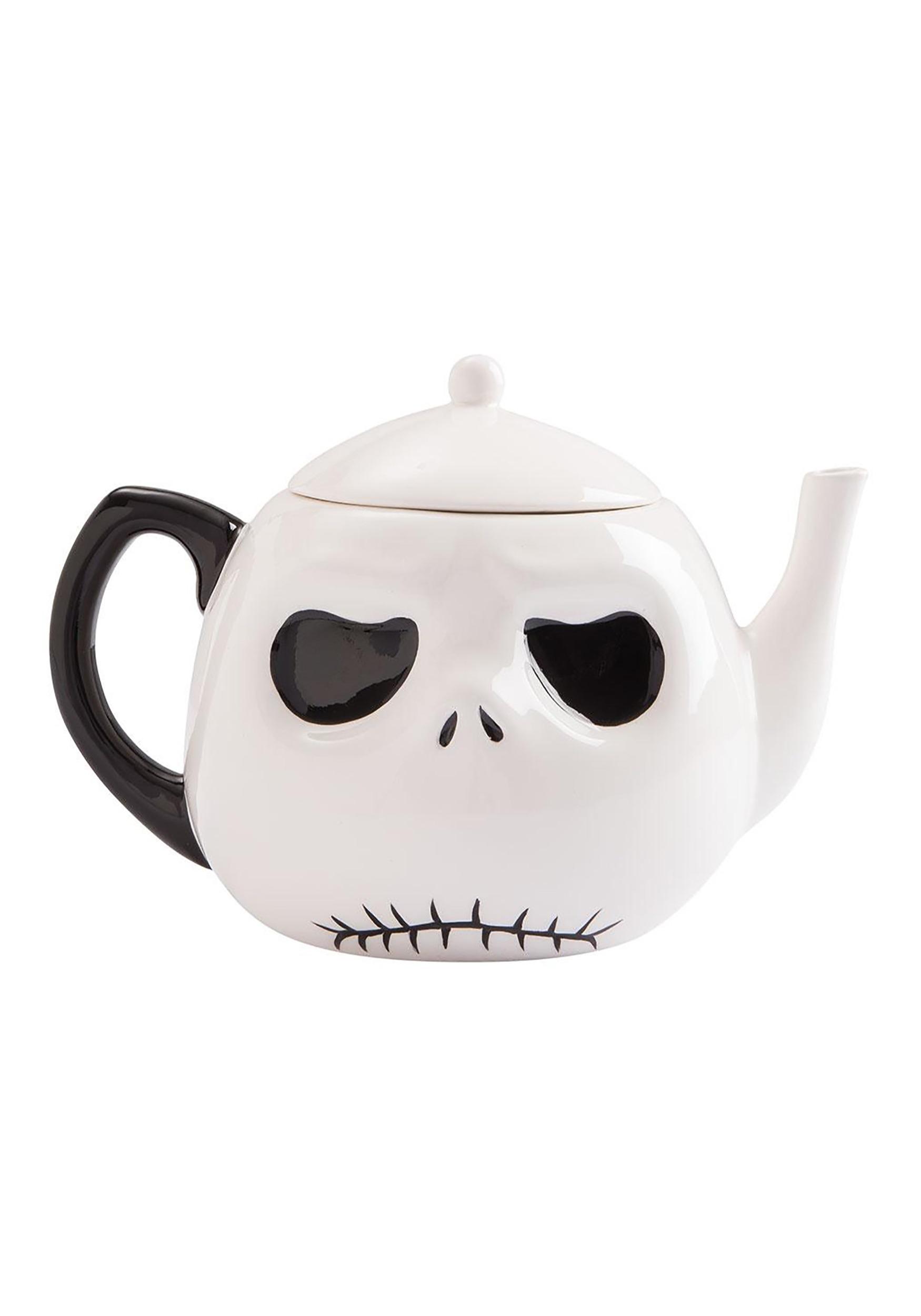 Jack Skellington Nightmare Before Christmas Ceramic Teapot